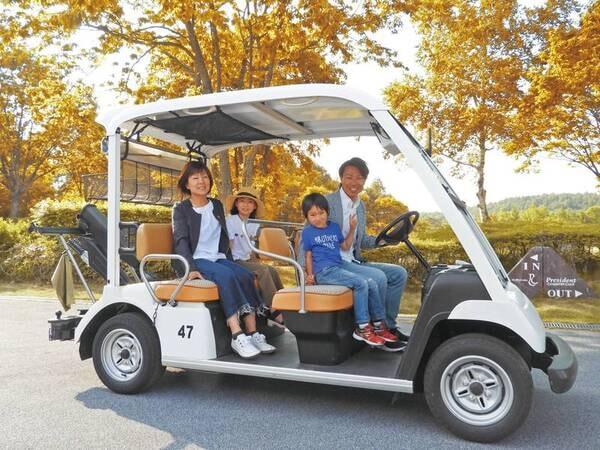 【カートツアー】ゴルフ場をカートで巡るツアー(期間限定)
