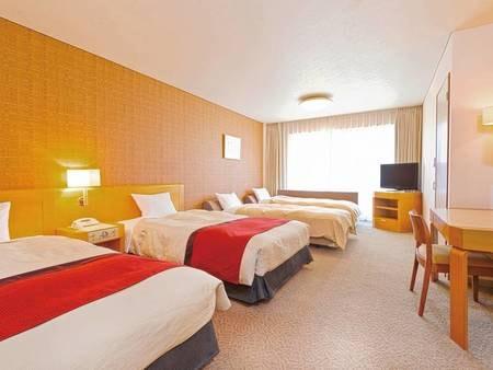 【40㎡洋室/例】ゆとりのある40㎡の空間。2ベッド+2ソファーのお部屋