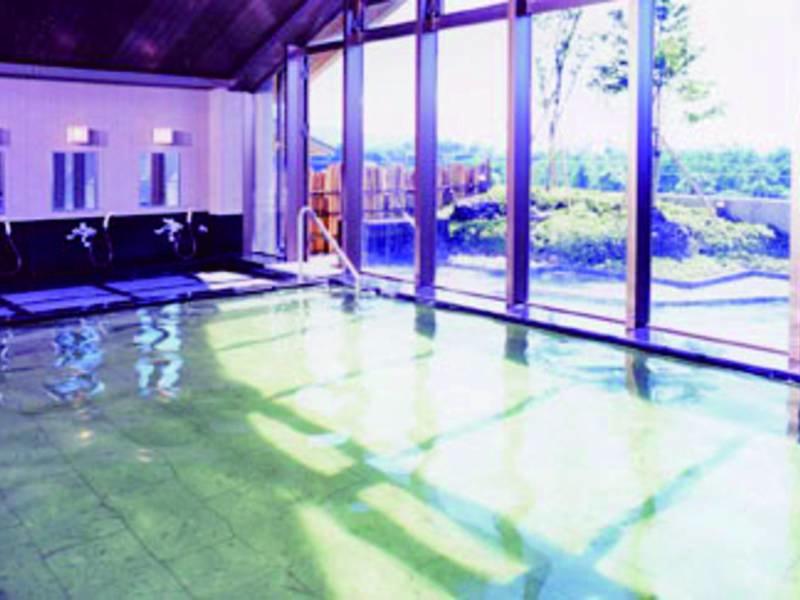 【大浴場】湯触り滑らかな敷島の湯を堪能!