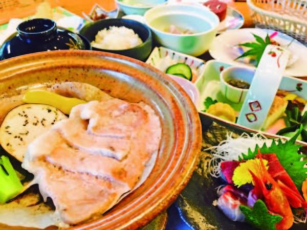 【ヘルシーパル赤城】【お客様お風呂クチコミ高評価】湯ざわり滑らかな敷島の湯と季節替わりの料理を満喫!