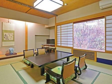 【上屋敷/例】上質なおもてなしと広々とした純和室でゆったりと寛げる