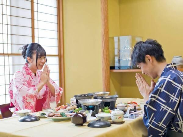 【個室食/例】周りを気にせずお食事が楽しめる!