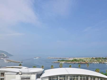海側和室からの眺望/例