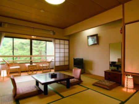 【客室/例】和の風情溢れる、和室をご用意。眺望は宿おまかせとなります