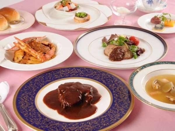 天使の鐘洋食フルコース【夕食のみ】/一例