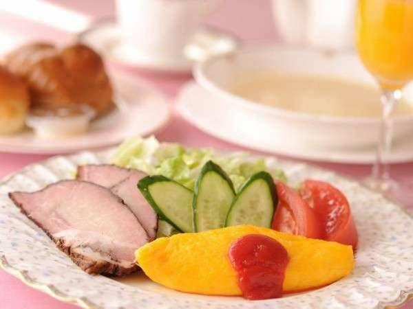 朝食(洋食セット)/一例