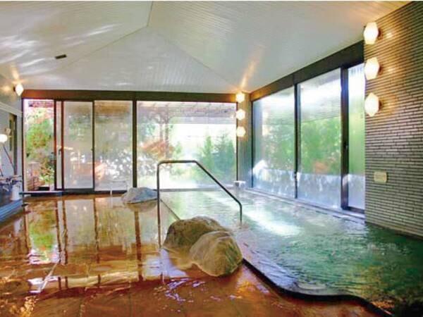 【大浴場(源氏の湯)】大浴場にはサウナも完備