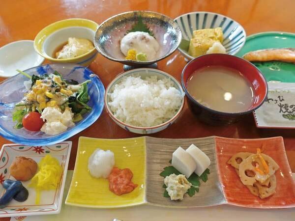 【朝食/例】和食膳(バイキングになる場合あり)