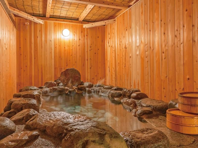 【貸切露天風呂「番屋」離れ】50分間無料で入浴できる
