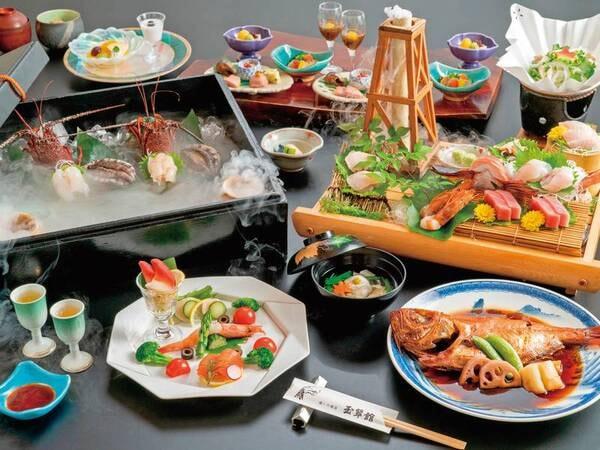 【夕食・海鮮膳】/例
