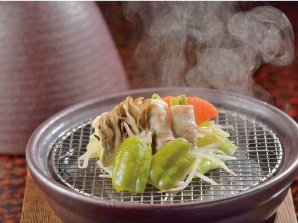 朝食・タジン鍋/例