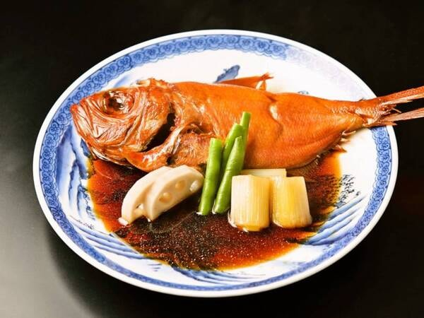 金目鯛の姿煮/例