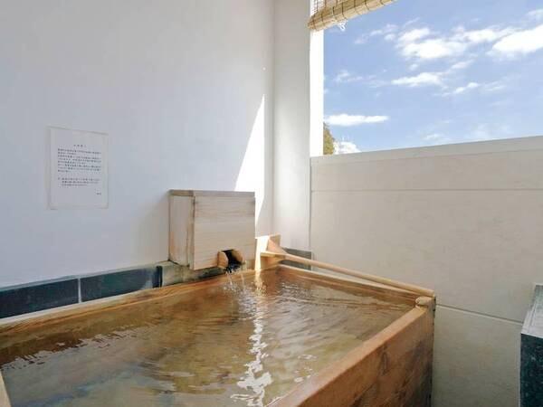 【半露天付和室10畳<小さな檜風呂>/例】