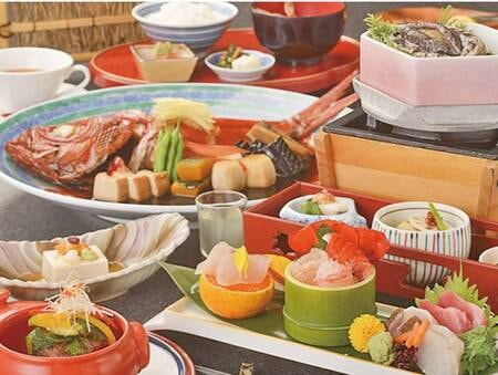 「旬の特選」プランは豪華食材満載!