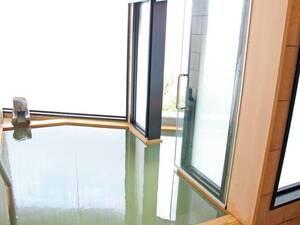 【無料貸切風呂「伊豆の湯」】窓からは海を一望!
