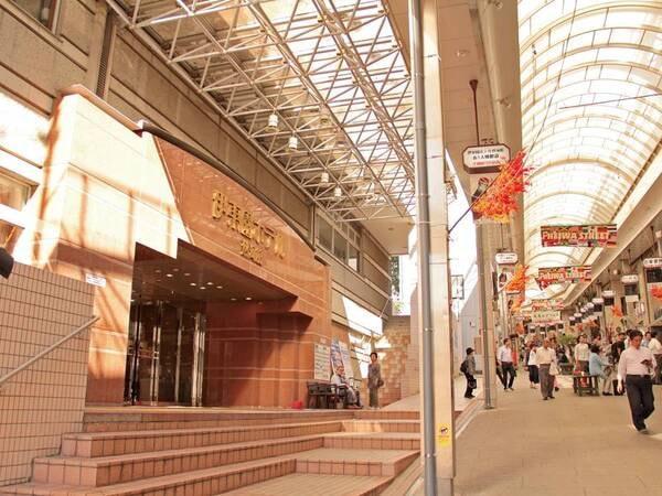 熱海駅前の「平和通り商店街」内!アクセス抜群!