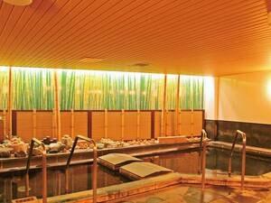 【本館温泉大浴場(女湯)】和の趣ある大浴場でのんびりと入浴