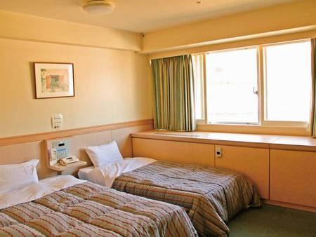 【ツインルーム/例】お部屋は人数に合わせて宿任せでご用意(※選択不可)