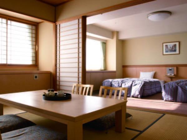【和洋室(ファミリータイプ)/例】お部屋は人数に合わせて宿任せでご用意(※選択不可)
