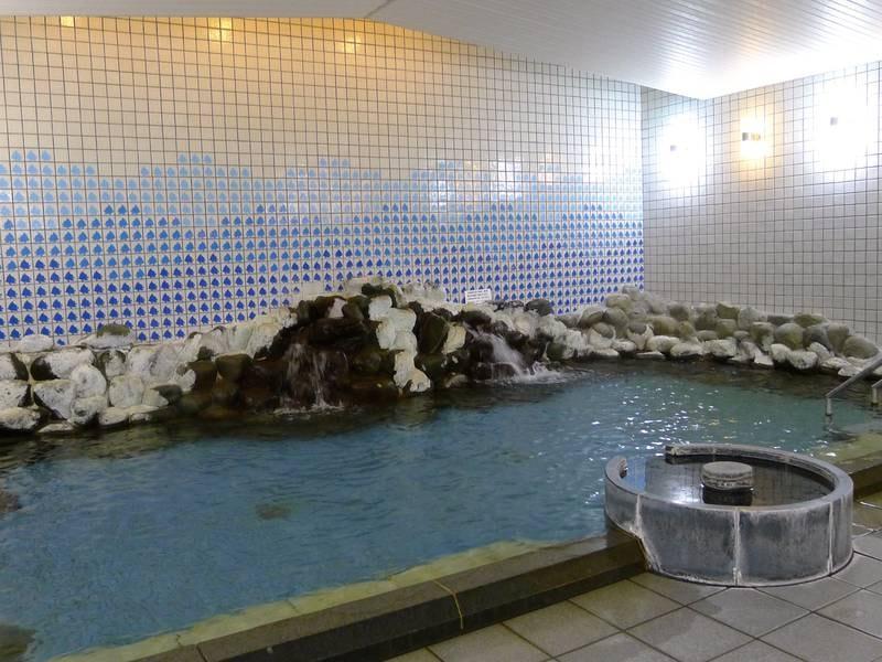 【大浴場】大きなお風呂でゆっくりと