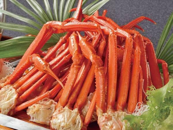 <3/21~3/26限定>蟹食べ放題ウィーク!みんな大好き蟹食べ放題! ※夕食バイキングにてご提供※写真は一例となります。