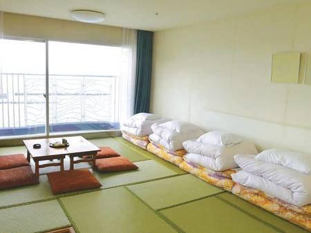 【和室/例】オーシャンビューの9畳にバルコニー付!