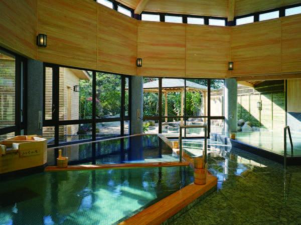 【大浴場】畑毛は県唯一の環境省指定保養温泉
