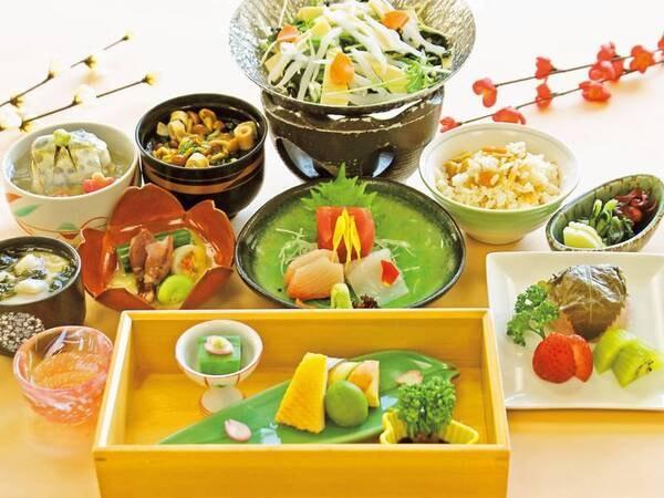 【月替り会席/例】旬の料理を月替わりに楽しめる