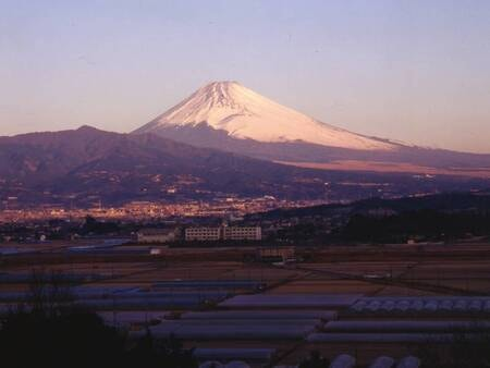 富士山側客室は富士山眺望