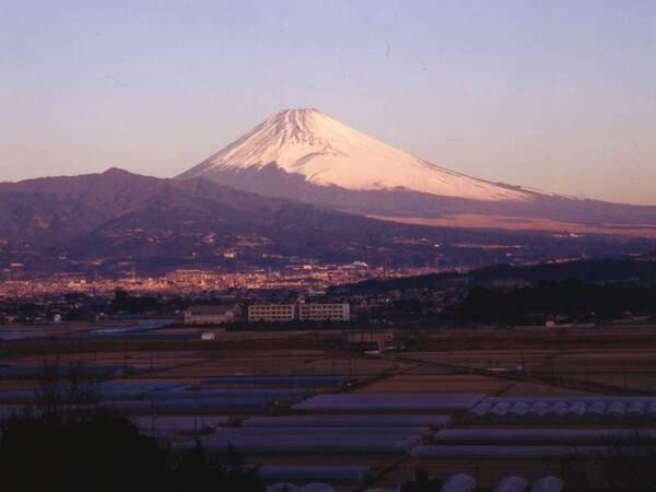 【富士山側和室/例】雄大な富士山を眺望