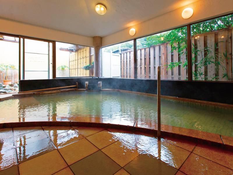 【大浴場/例】名湯に一晩中入浴可能