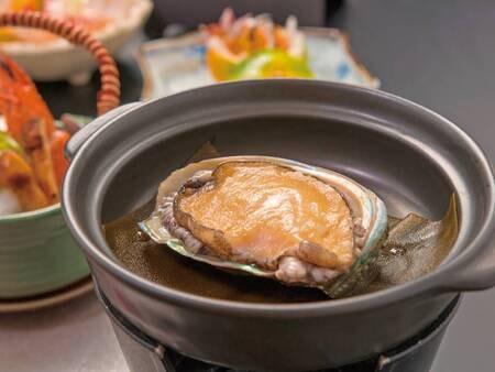 【あわび付!こだわりの海鮮料理の夕食/例】