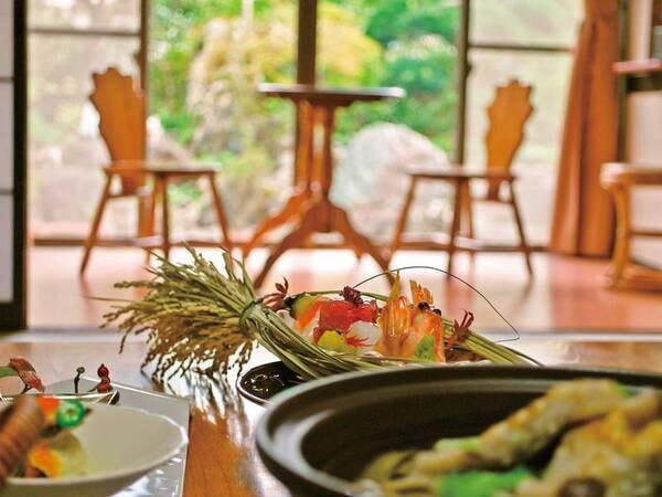 【お部屋食】海の幸会席 /夕食一例