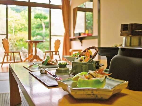 【お部屋食】海の幸会席/夕食一例