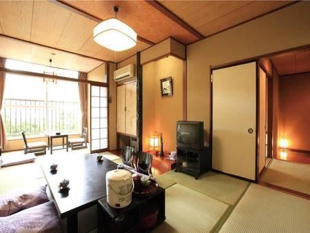 【2間和室/例】10畳+広縁付の和室に、さらにもう一間。ゆったりと過ごせます。