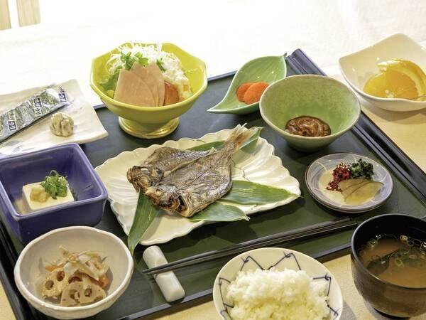 【朝食/例】栄養満点のおいしい朝ごはん