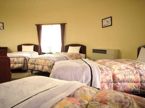 【客室/例】4ベッド設置のコテージタイプ