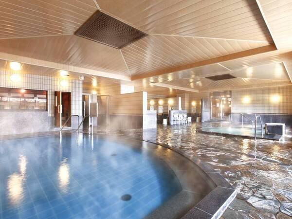 【大浴場】くつろぎ寝湯・ジャグジー・低温サウナなど完備