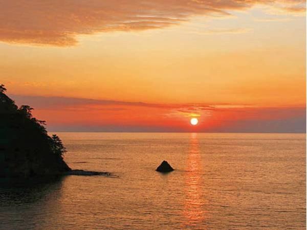 【景観】夕陽のまち西伊豆