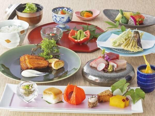 【スタンダード和会席/例】金目鯛と野菜の福沙焼き・海鮮鍋・名物まご茶漬け他