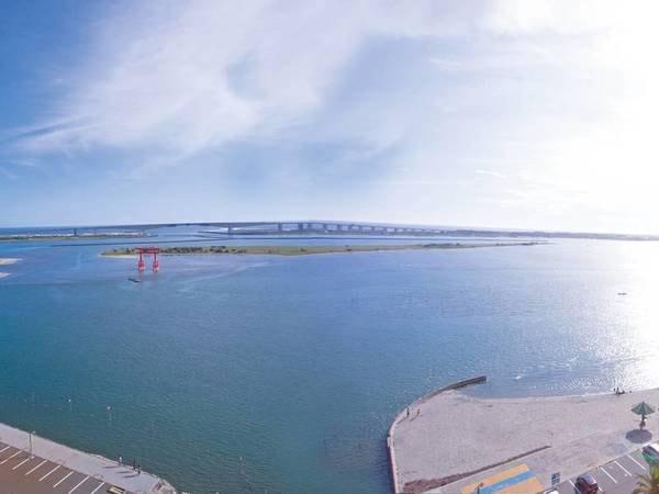 【眺望/例】浜名湖と大鳥居を望む客室もある