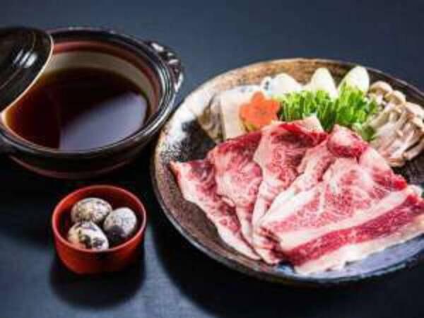 【和牛すき焼き/例】