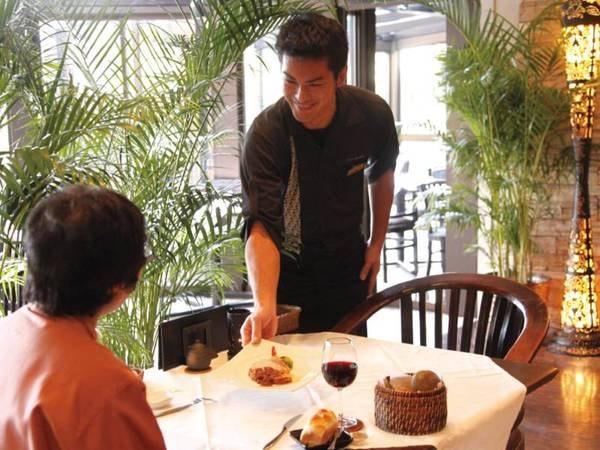 【レストラン】バリをイメージしたレストランで美食を愉しむ