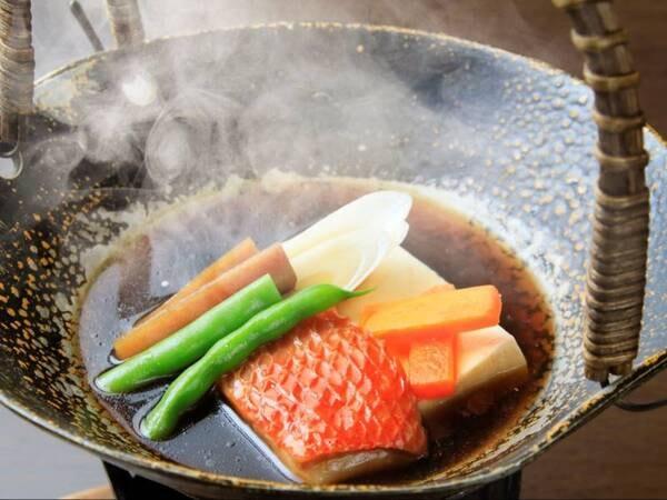 【華プラン/10月以降のメニュー例】金目鯛小鍋仕立
