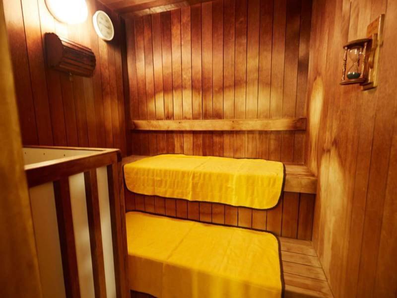【大浴場/男湯】男湯にはサウナもあります