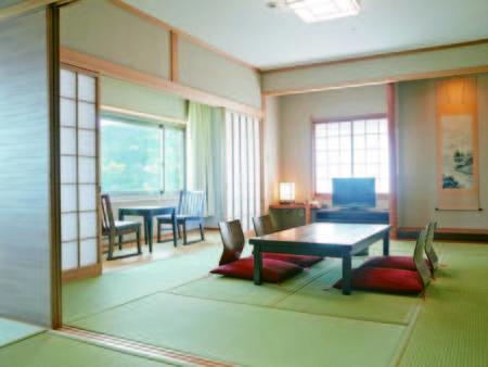 【客室/例】エメラルドの海一望の広々和室