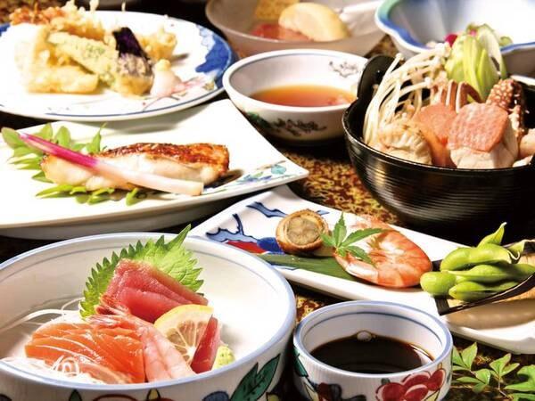 金目鯛鍋・海鮮盛会席/例