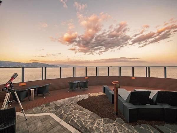 【最上階空中庭園】大海原を180度パノラマビューで愉しむ