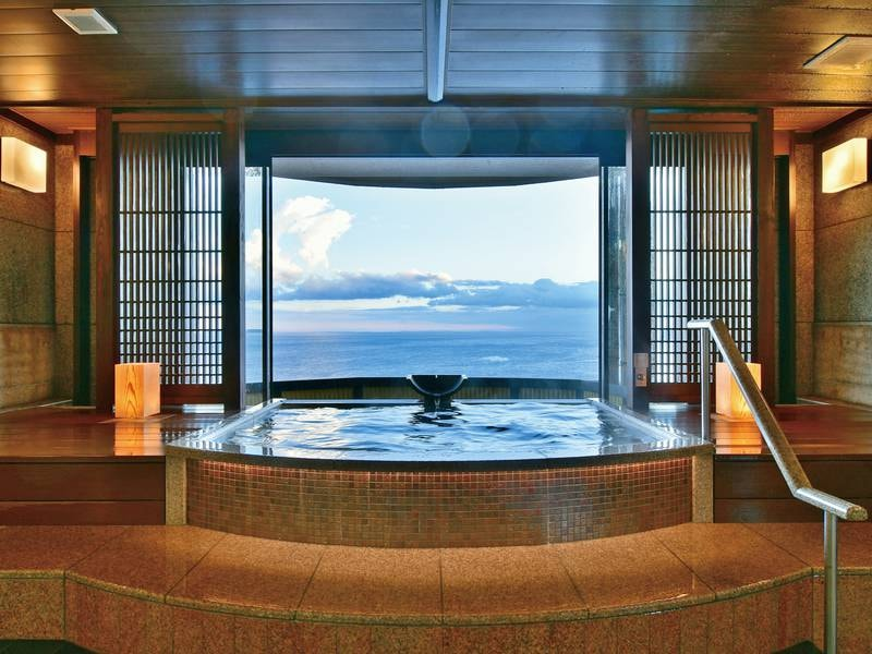 【最上階貸切温泉露天風呂~薫~】入浴しながら絶景が愉しめる