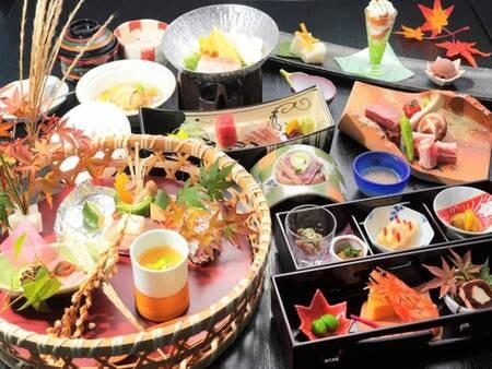 【夕食】料理長が吟味した伊豆の食材を生かした美食会席/例